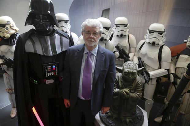 George Lucas Star Wars - Darth Vader - Stormtroopers